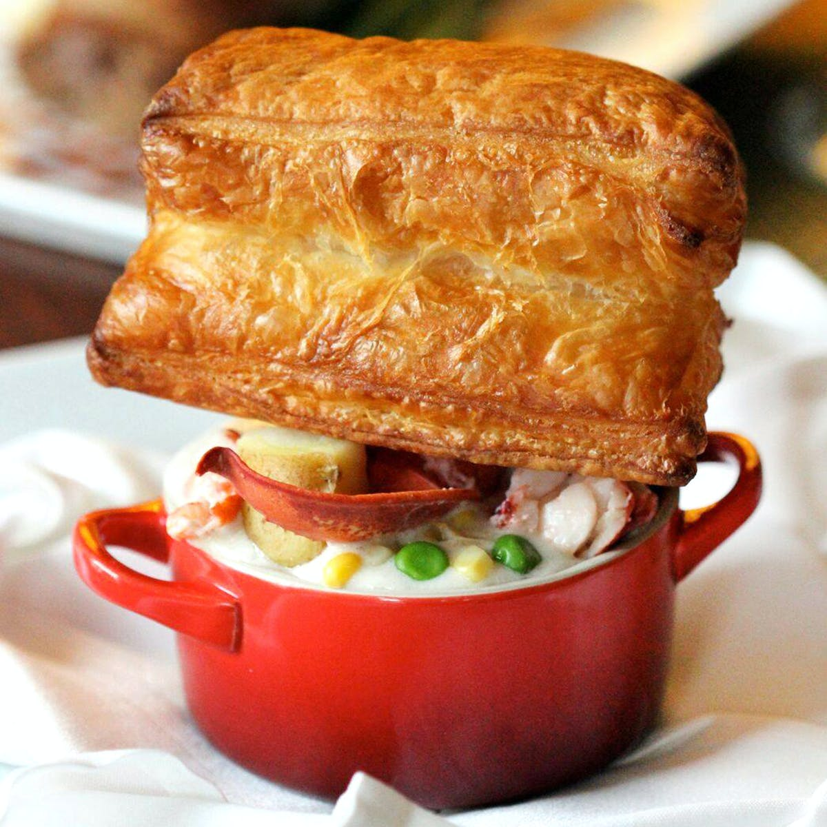 Fresh Maine Lobster Pot Pie Kit by The ...