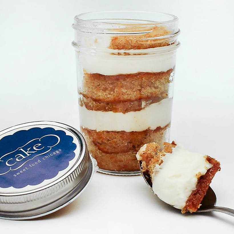 Jar'd Cakes Gift Box - 4 Pack