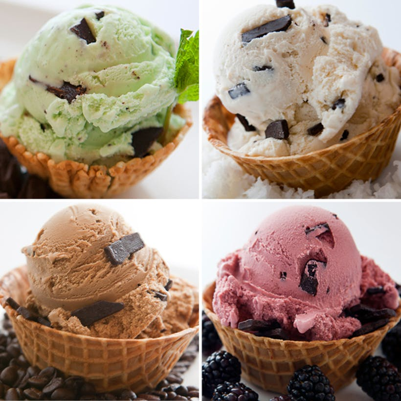 """""""Chip Off the Cold Block"""" Ice Cream Sampler - 6 Pints"""