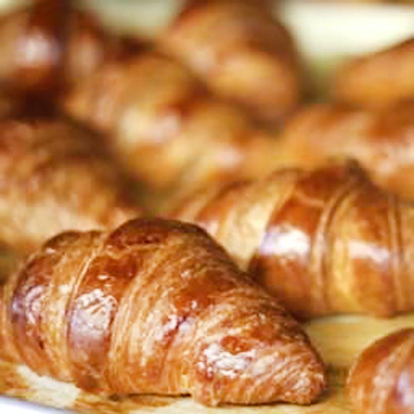 Fresh Parisian Croissants - 12 Pack