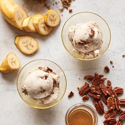 Roasted Banana Gelato w/ Bourbon Pecan Praline - 6 pack