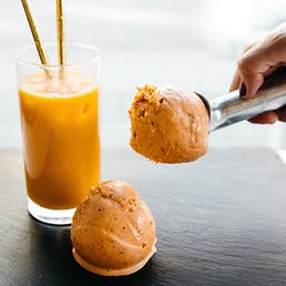 Thai Tea Ice Cream - 6 Pints