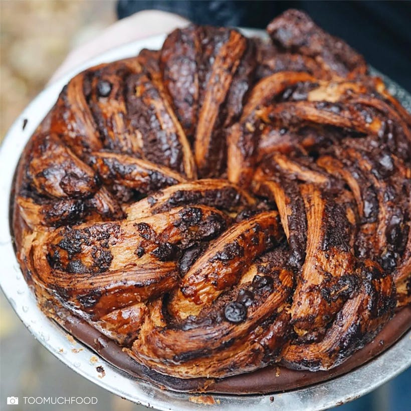 Breads Bakery Chocolate Babka Pie