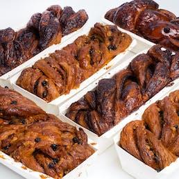 Breads Chocolate and Cinnamon Babka - 6 Pack