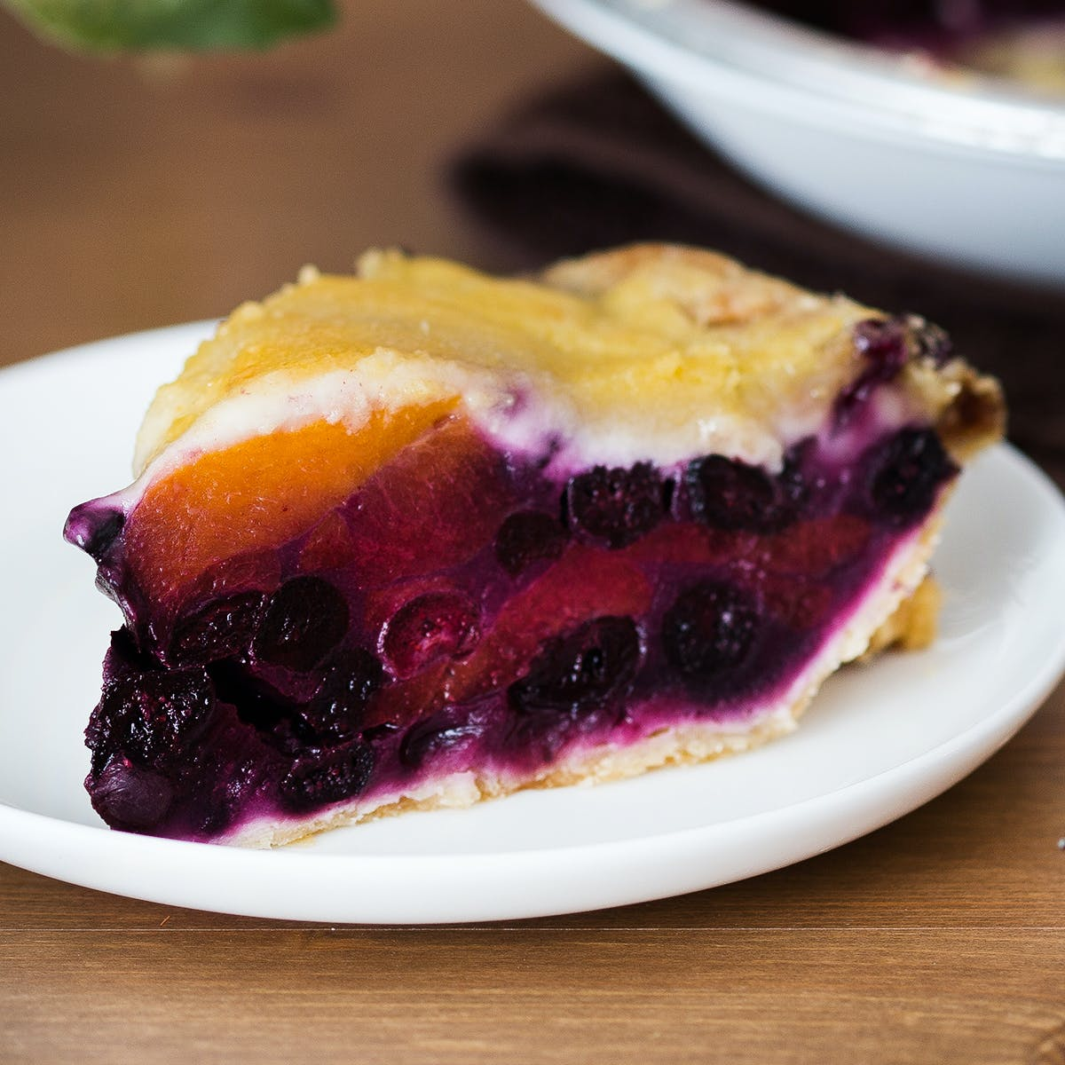 Blueberry Peach Pie By Estes Park Pie Shop Goldbelly