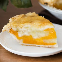 Apple Ginger Peach Pie