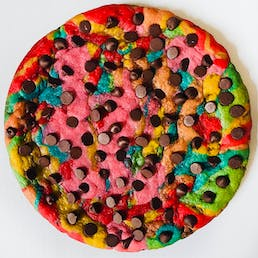Choose Your Own Colors Chocolate Chip Cookie Cake