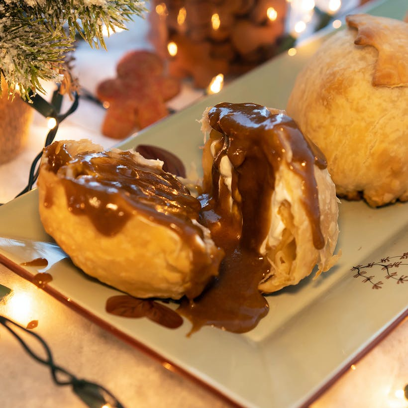 Gingerbread & Cream Apple Bomb - 4 Pack