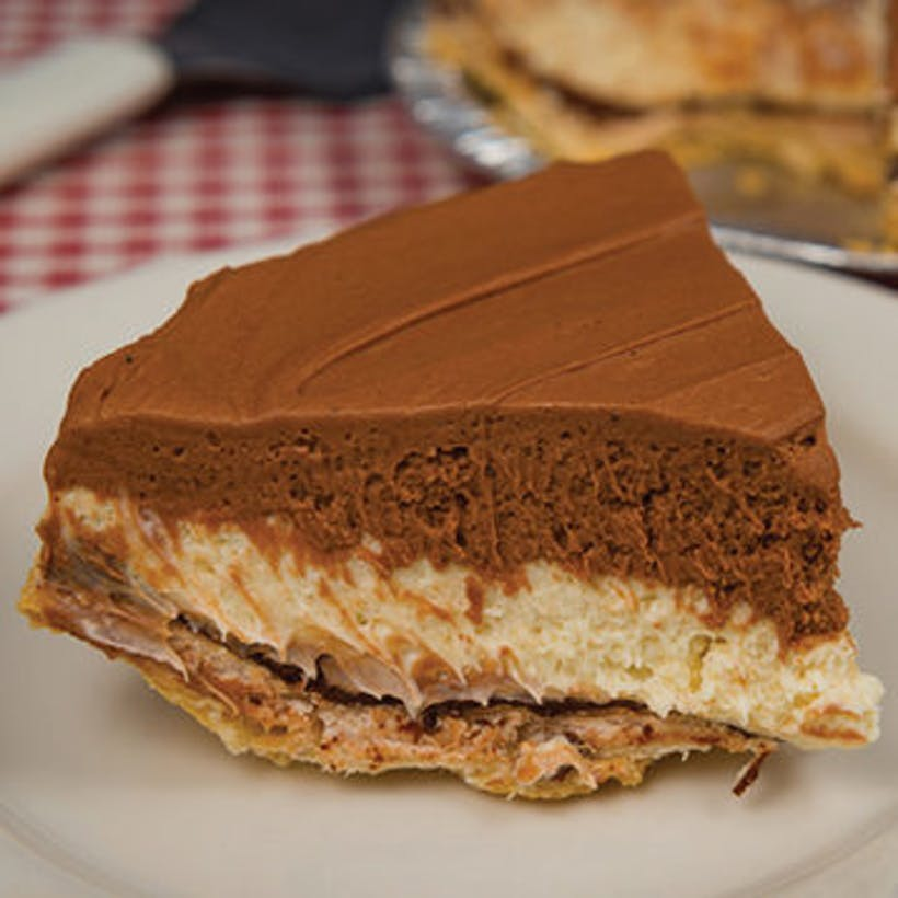 5 Layer Chocolate Cream Pie
