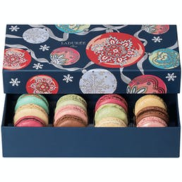 Nuit de Noël - Box of 12 Macarons