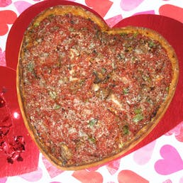 Heart Shaped Pizza - 4 Pack
