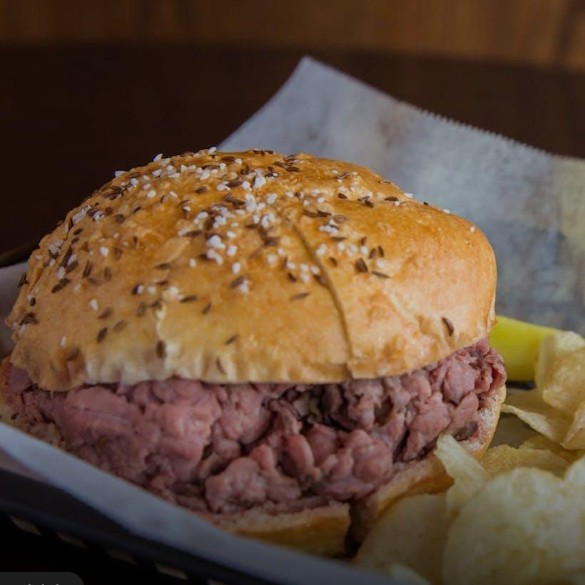 Beef on Weck Sandwich - 4 Pack