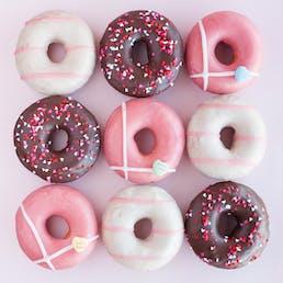 Underwest Donuts Valentine's Day Dozen