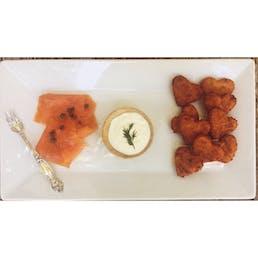 Bite Sized Sweet Potato Latke Valentines Day - 48 Pack
