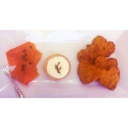 Large Sweet Potato Latke Valentines Day - 20 Pack