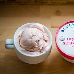 Organic Strawberry Ice Cream - 6 Pints