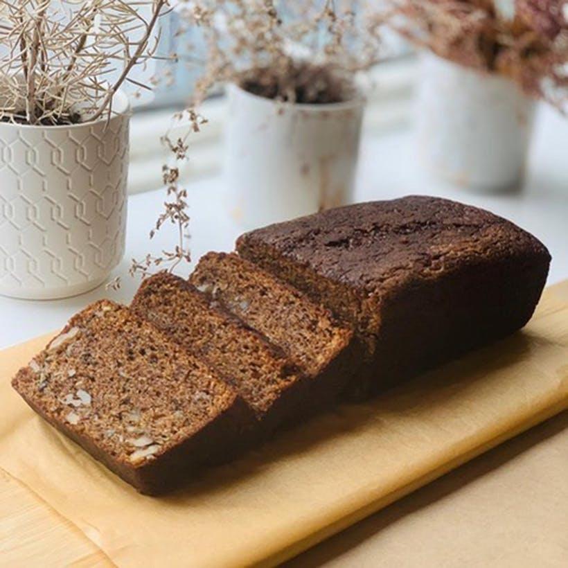 Zucchini & Walnut Loaf Cake - 2 Pack