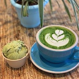 Organic Green Tea Ice Cream - 6 Pints
