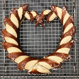 Heart Pretzel Box