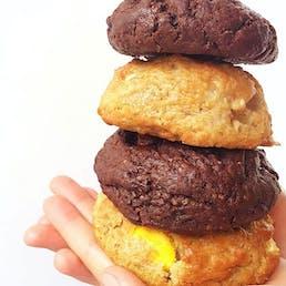 Seasonal Giant Cookies - 4 Pack