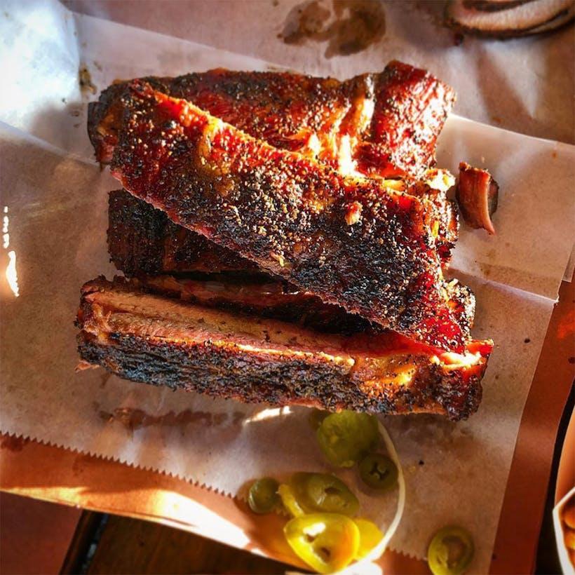 Texas Sized BBQ Ribs - 2 Racks