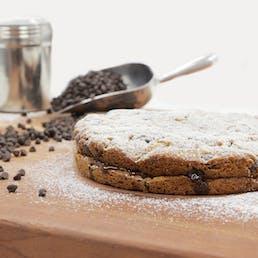 Jumbo Chocolate Chip Cookie Cake