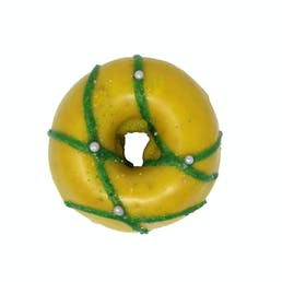 Mardi Gras Cake Donut Dozen