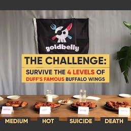 Buffalo Wings 250K Scoville Challenge