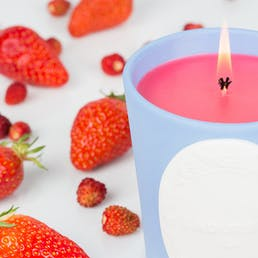Wild Strawberry Scented Candle