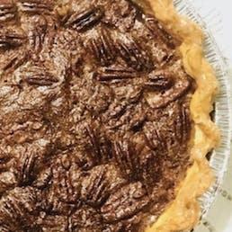 Chocolate Bourbon Pie