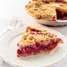 Grand Traverse Cherry Crumb Pie