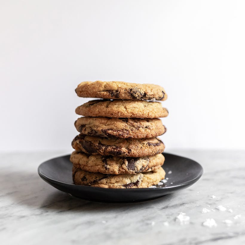 Salted Chocolate Chip Cookies - 12 Pack