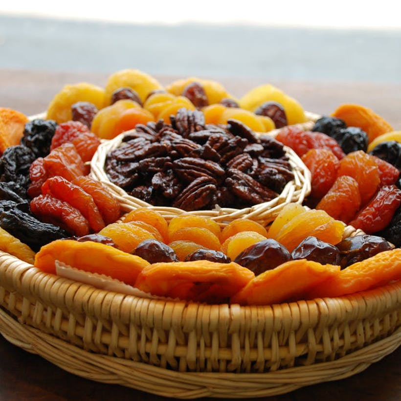 Dried Fruit and Nut Basket