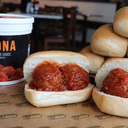 Italian Meatballs & Marinara Sandwich - 8 Pack