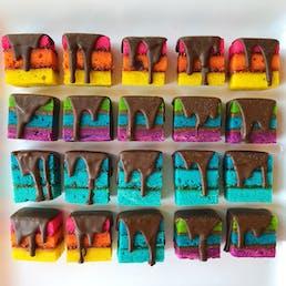 Rainbow Cookies Assorted Fillings - 20 Pack
