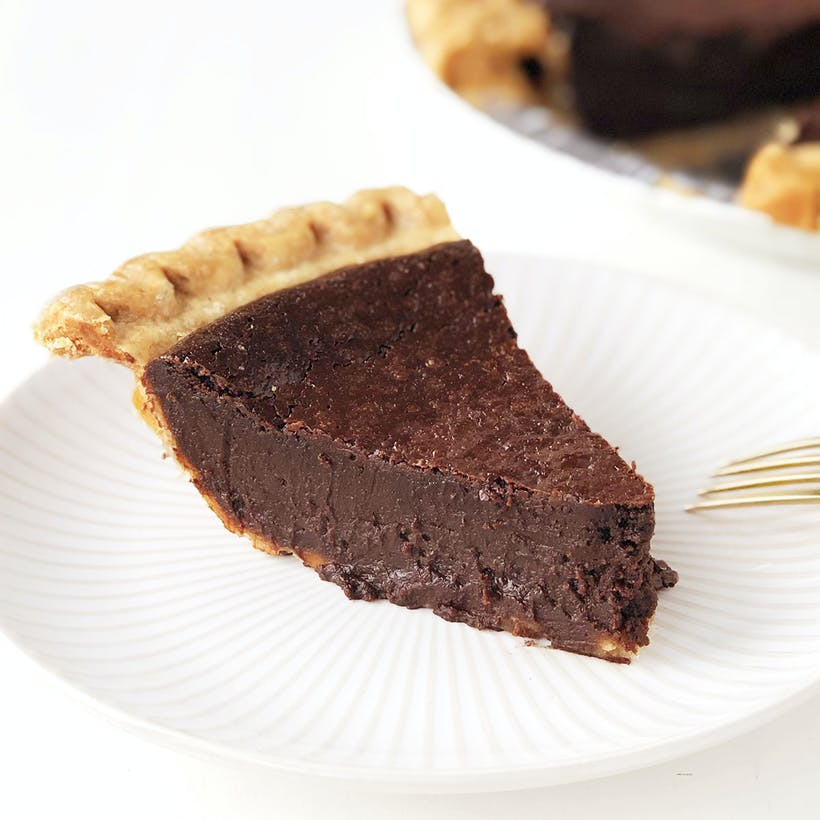 Spicy Chocolate Pie
