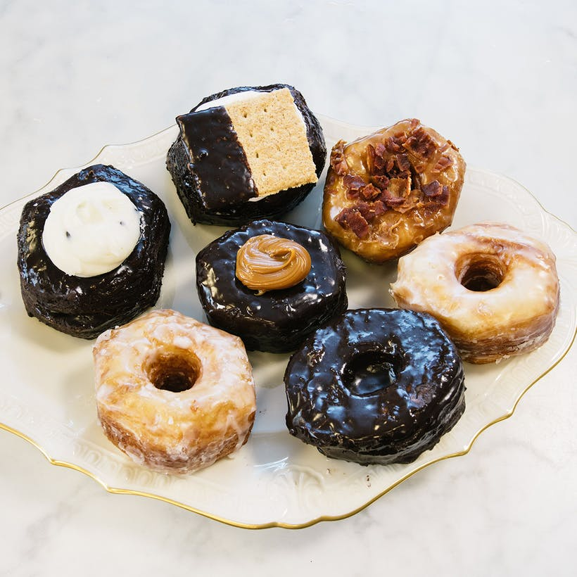 Assorted Croissant Donuts - 9 Pack