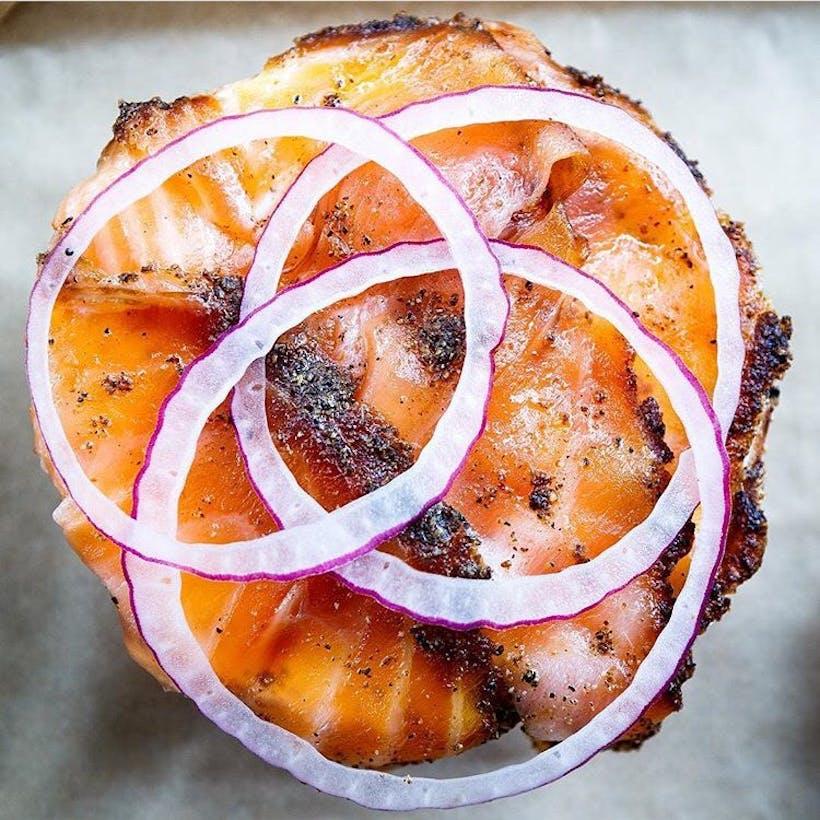 Pastrami Smoked Salmon - 1/2 lb.