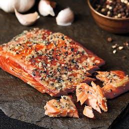 Garlic Lover's Smoked Wild Salmon