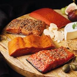 Pacific Northwest Smoked Wild Salmon Variety - 4 Pack