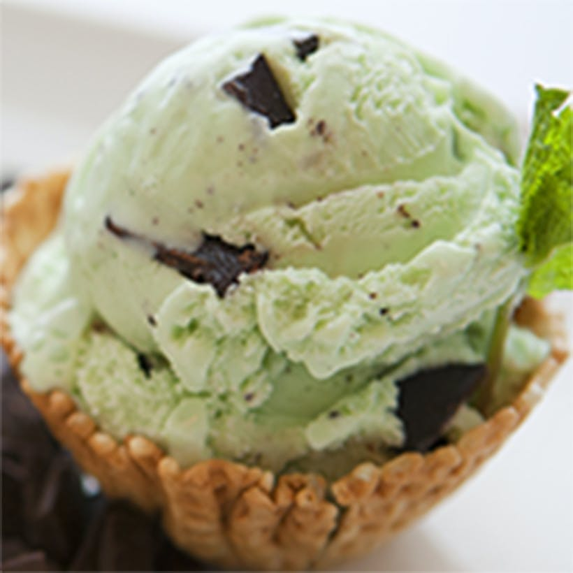 Kentucky Derby Mint Chocolate Chip Ice Cream - 6 Pints