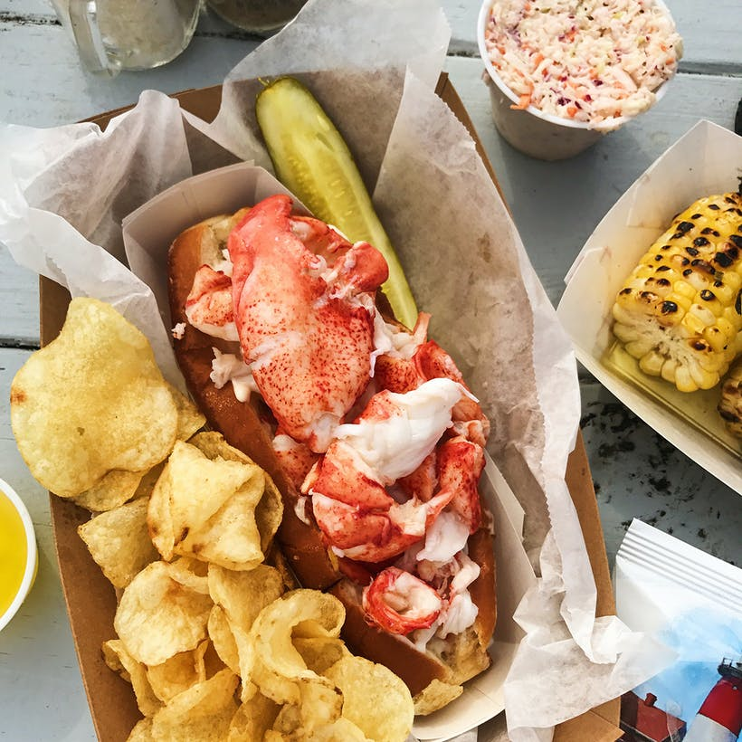 Maine Lobster Roll Kit - 4 Pack