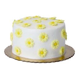 Lemon Raspberry Daisy Cake - Mother's Day Edition