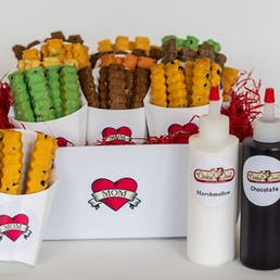 Mother's Day Cookie Fry Gift Basket