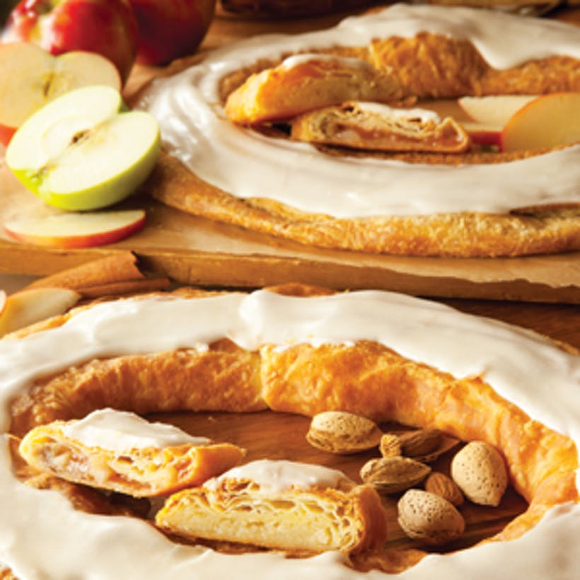 Apple and Almond Kringle Duo (Kosher)