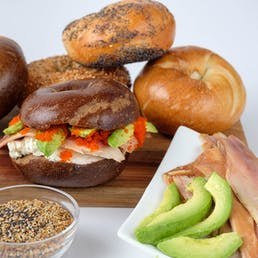 The Tribeca Smoked Trout Bagel Sandwich Kit