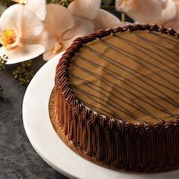 The Famous Hazelnut Brittle Cake