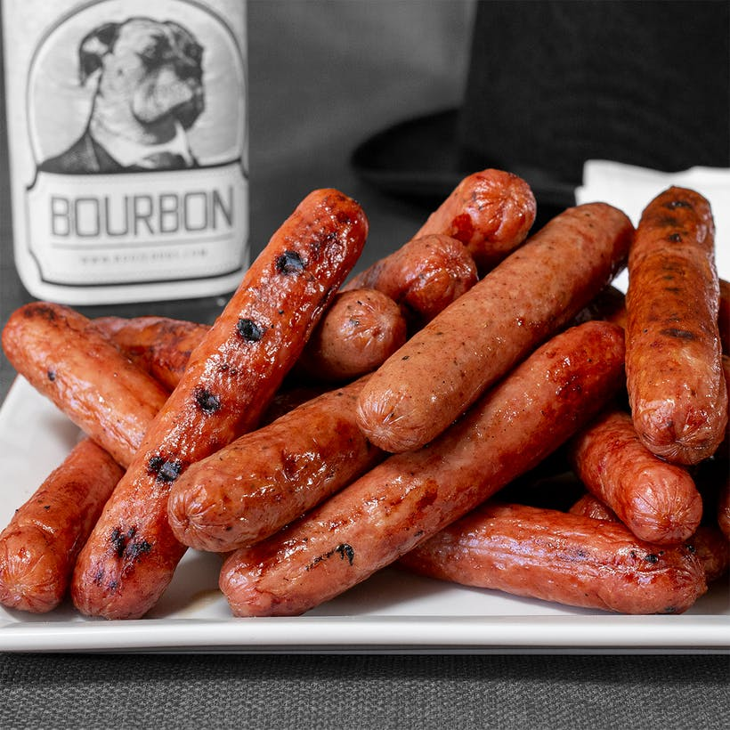 BOURBON Bluetick Hot Dogs