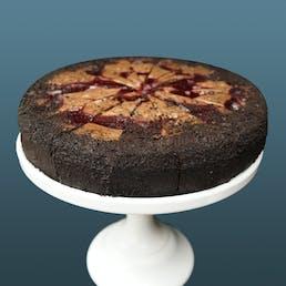 """Raspberry Chocolate Cheesecake - 9"""""""