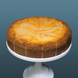 "Orange Cream Cheesecake - 9"""